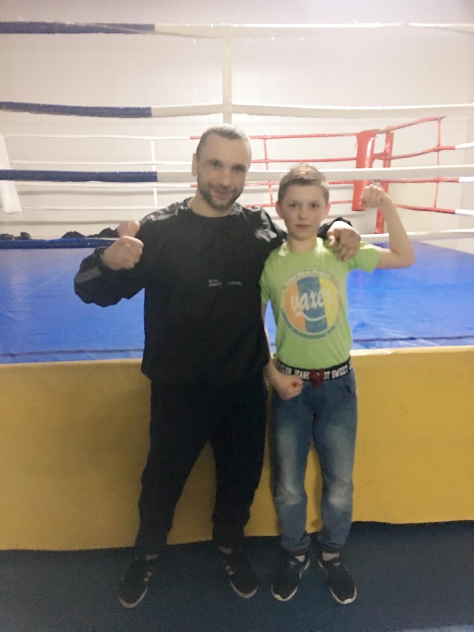 Фото с тренером