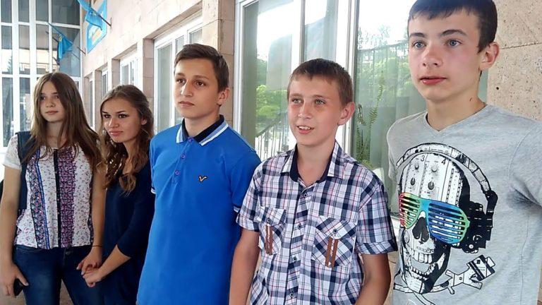"""Победители видео-конкурса """"Мой Никополь 2017"""" получили свои призы"""