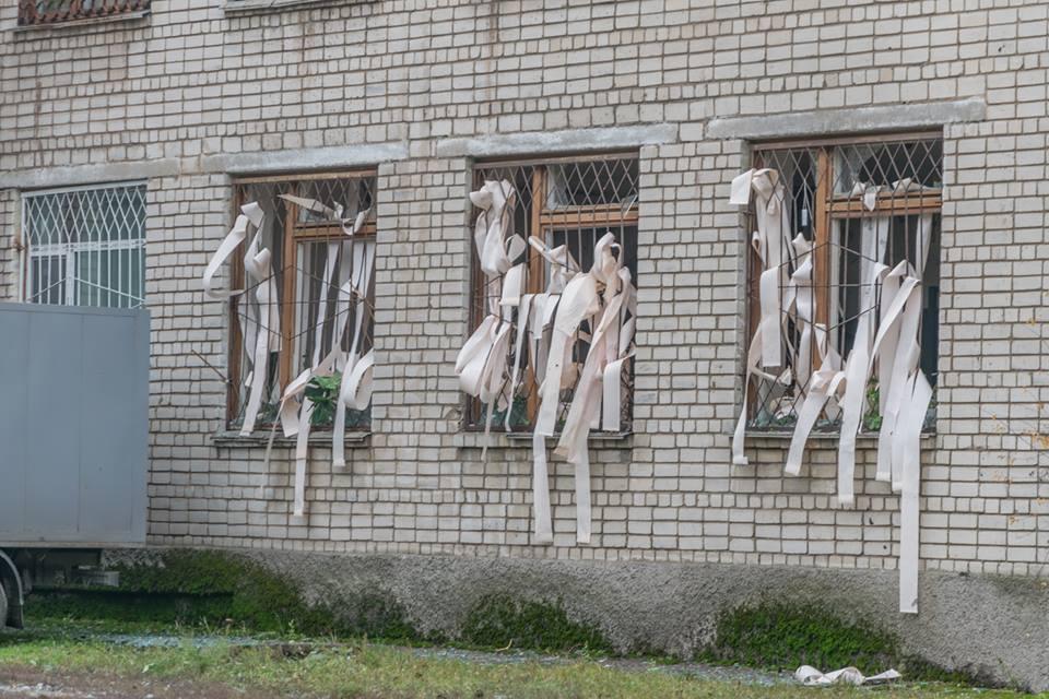 В Никопольском городском суде прогремел взрыв, есть пострадавшие   Прихист