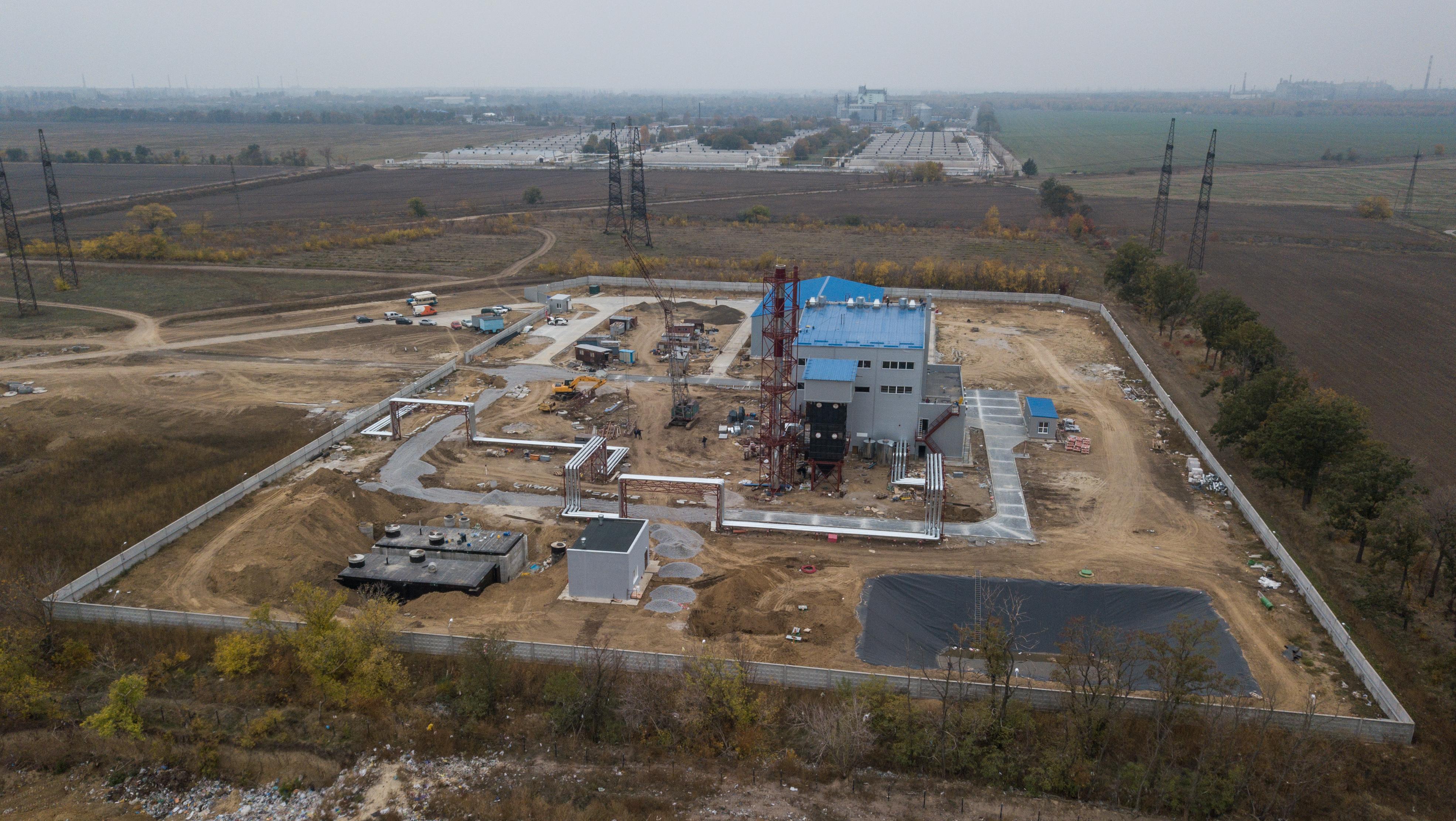 Пометосжигательный завод под Никополем | Прихист