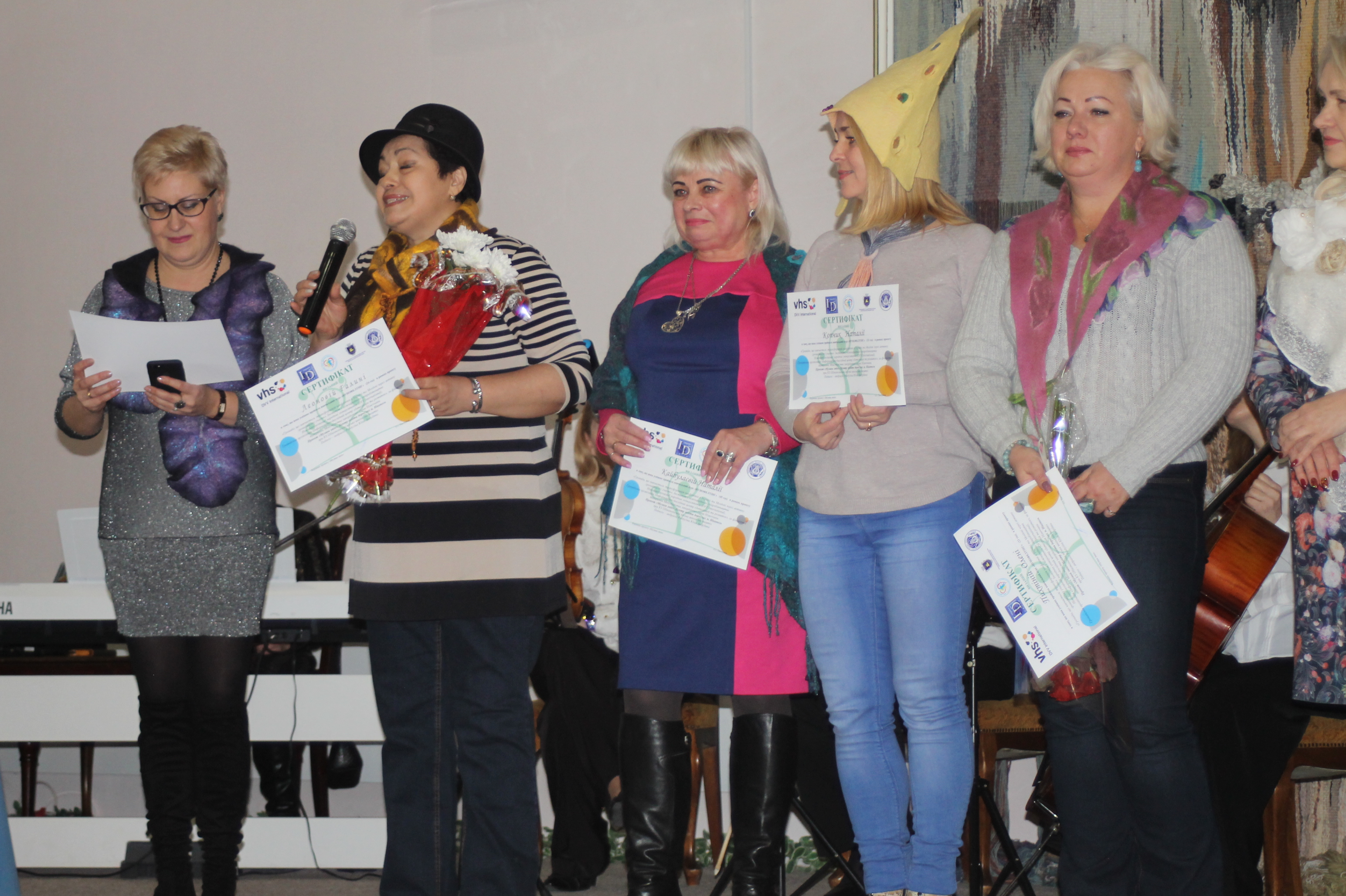 Учні  «Центру освіти для дорослих» отримали сертифікати   Прихист