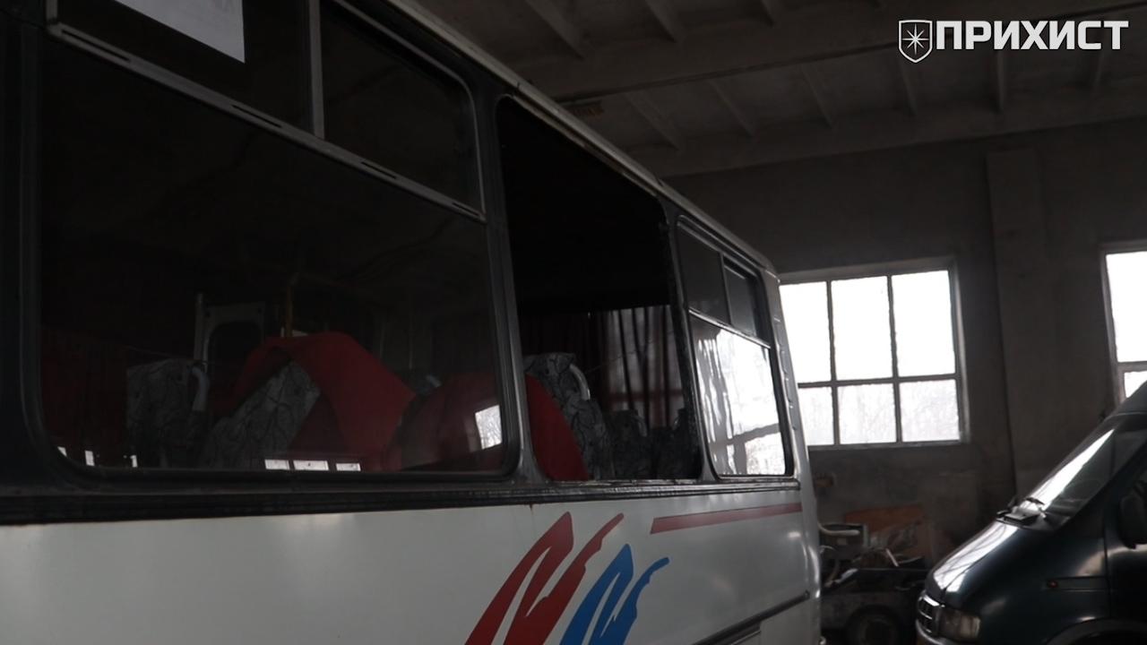 От действий хулиганов пострадали 5 автобусов | Прихист