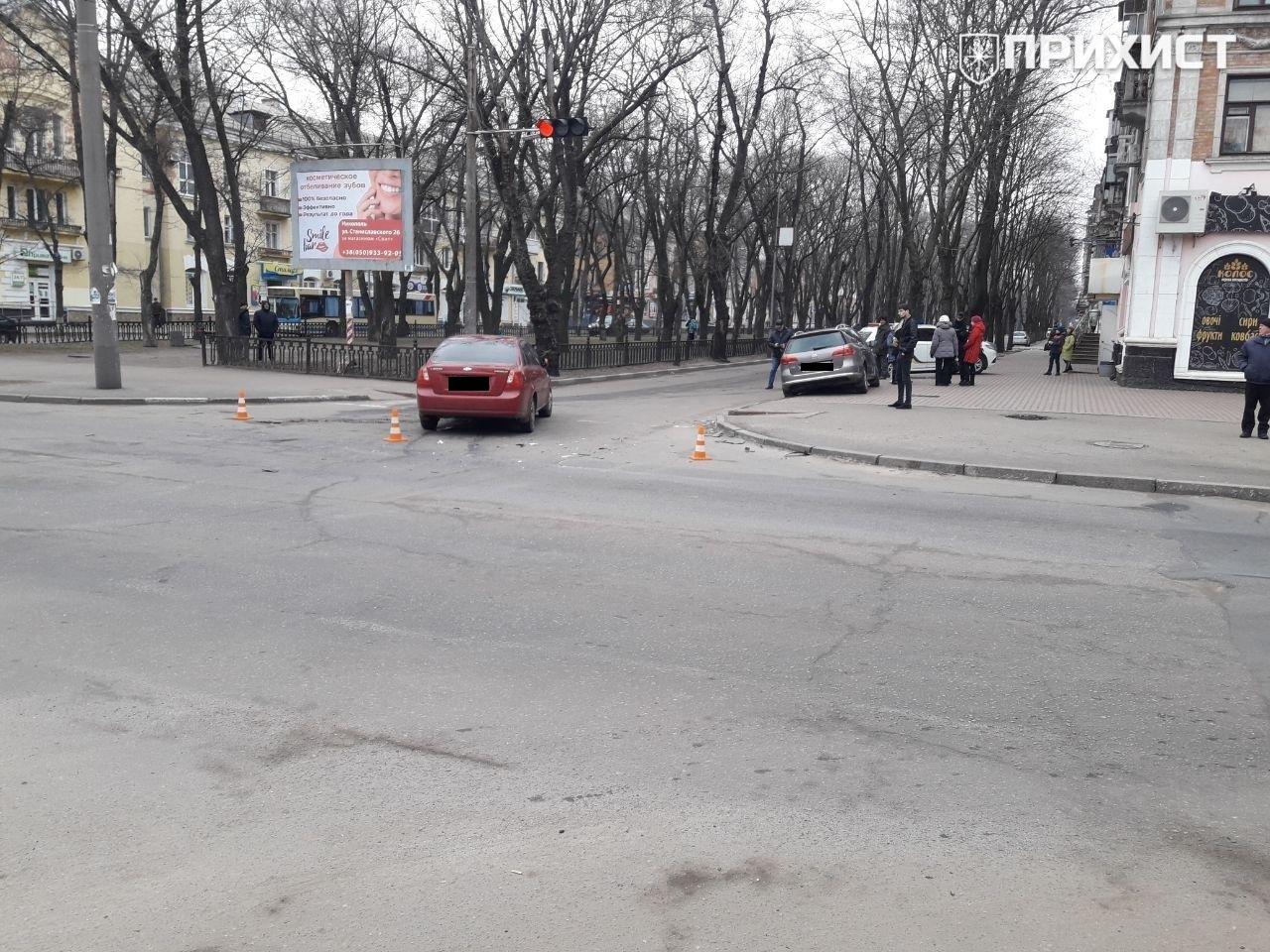 На проспекте Трубников произошло ДТП. Пострадавших нет | Прихист