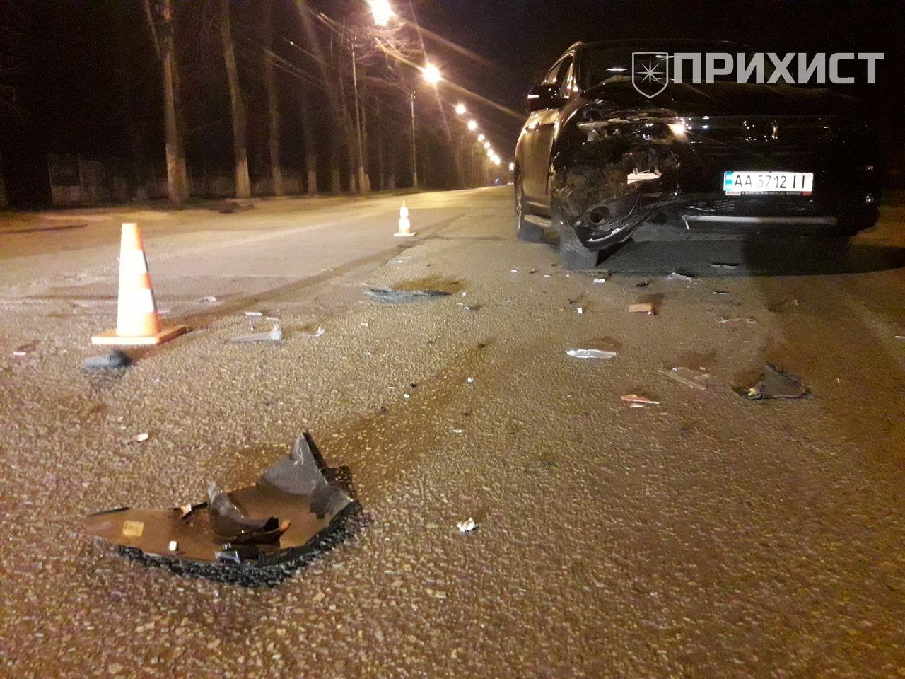 ДТП на ул. Ушинского | Прихист