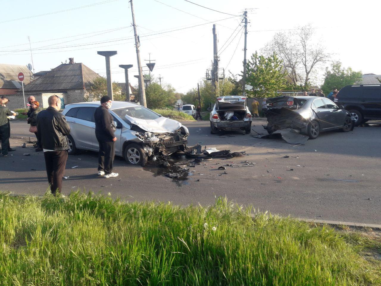 ДТП на ул. Декабристов   Прихист