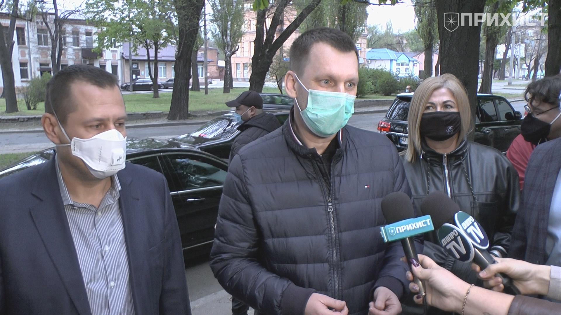 Александра Шаповала отпустили из зала суда под поручительство коллег-мэров | Прихист