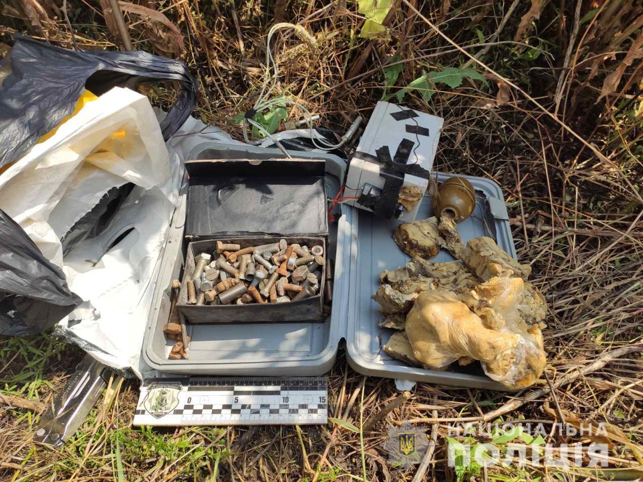 Оружие, взрывчатка и наркотики на 400 000 гривен   Прихист