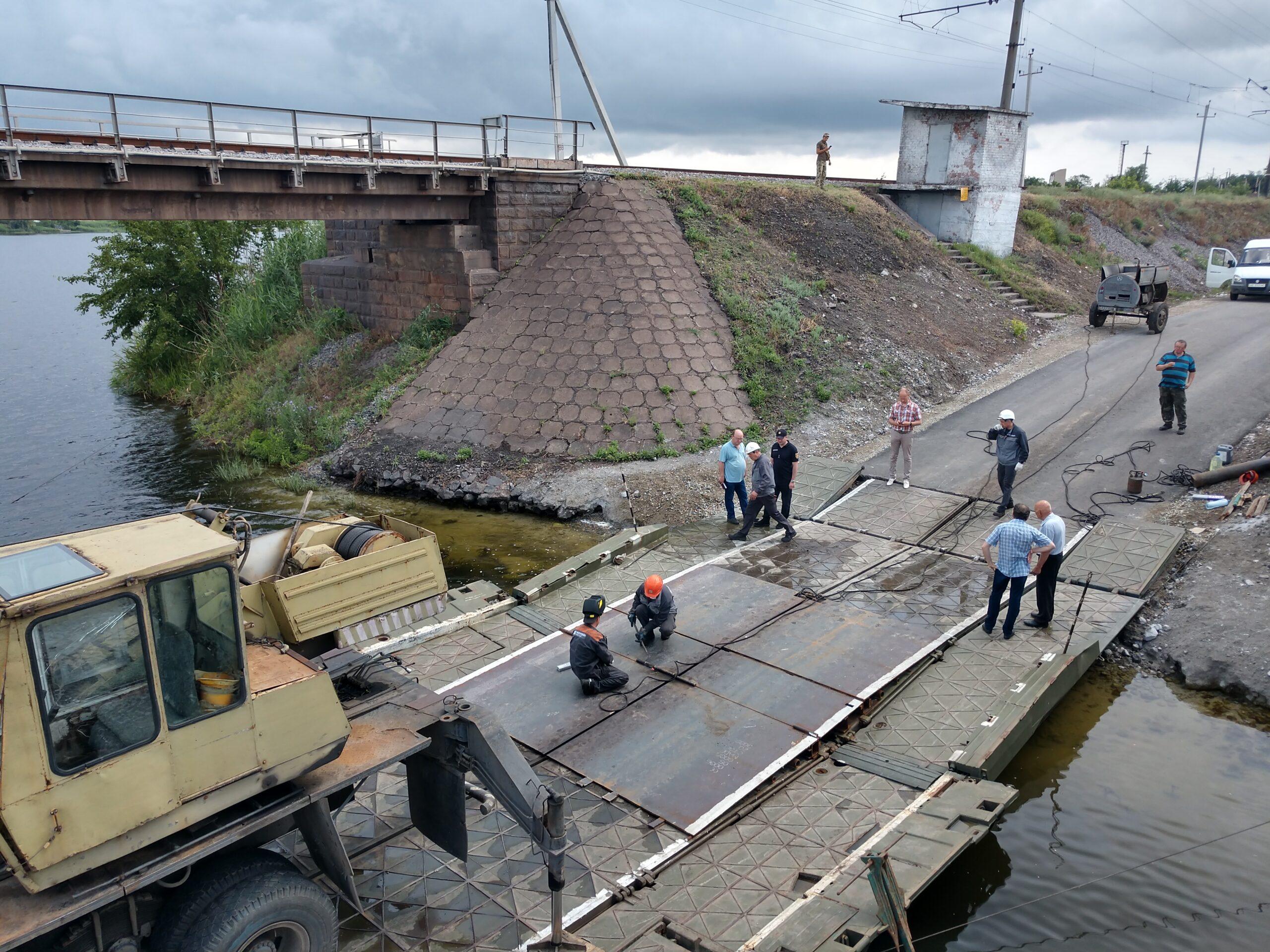 Понтонная переправа в Алексеевке опять не работает | Прихист