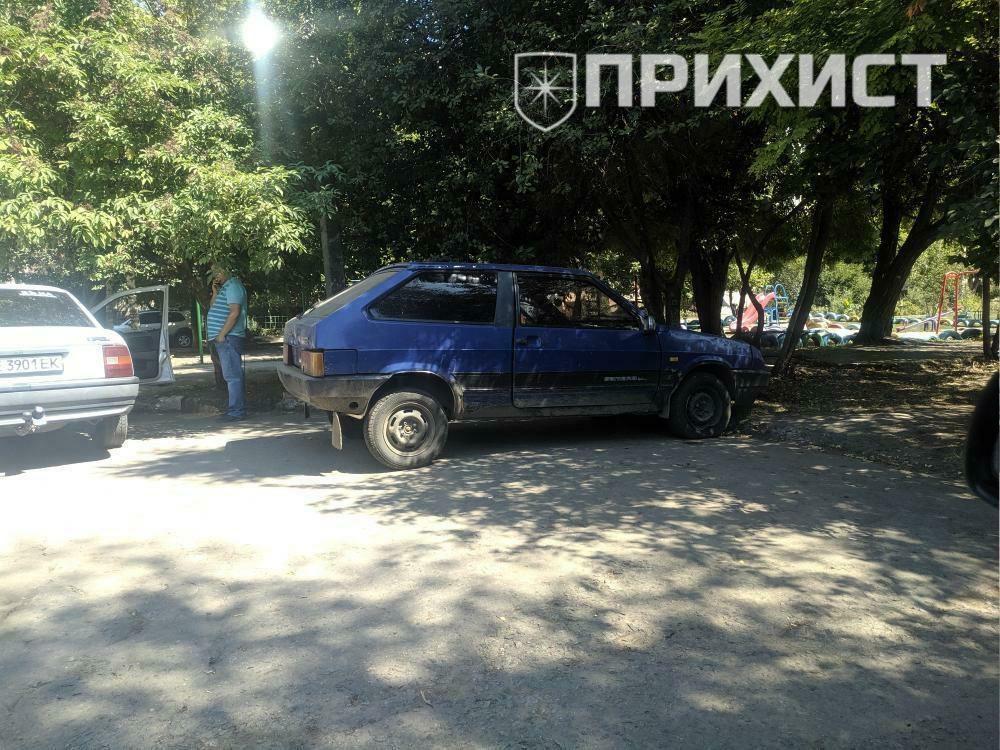 Угнанный бандой «терминальщиков» автомобиль найден в Никополе   Прихист
