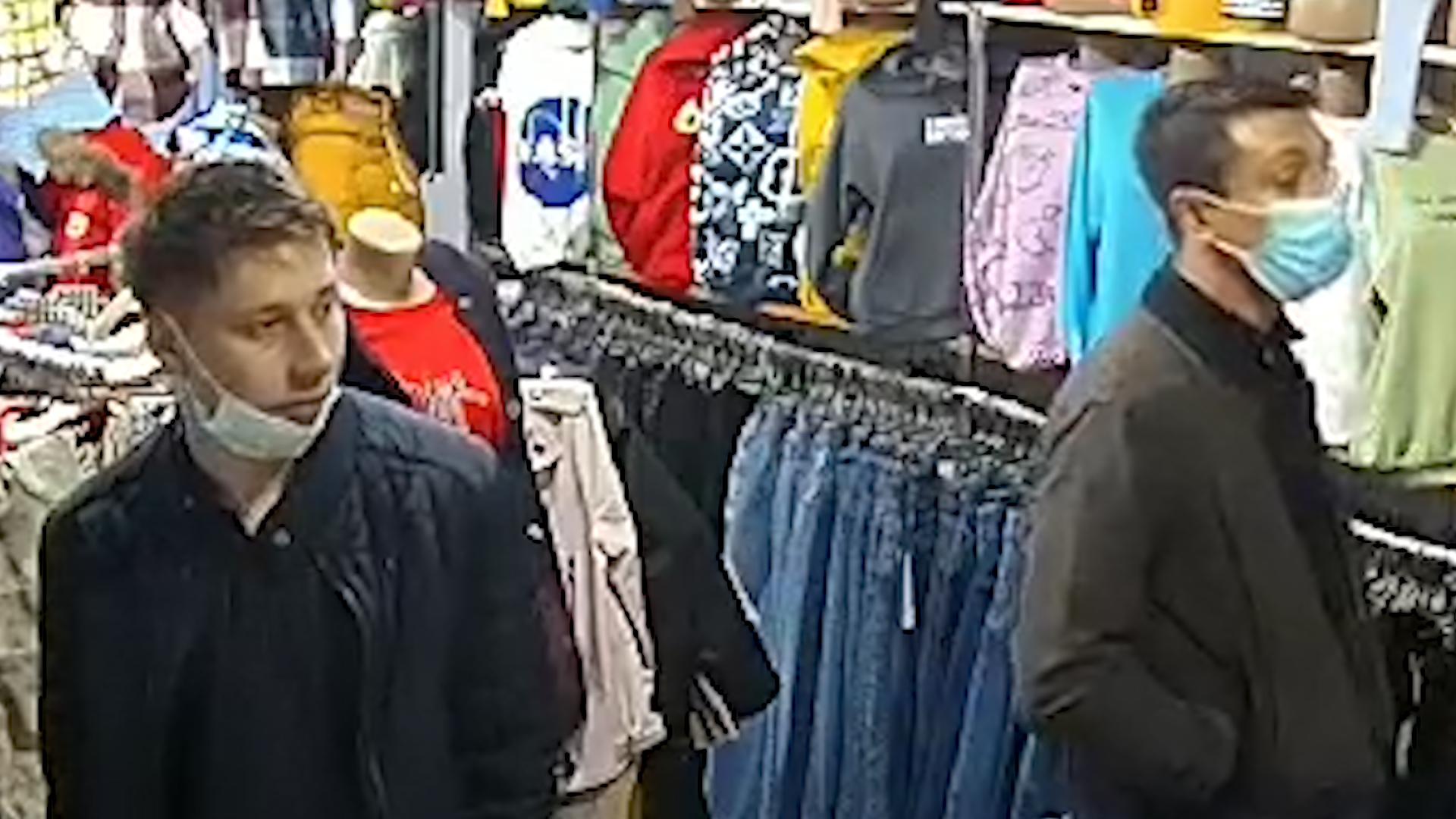 В Никополе ограбили магазин: помогите установить личность | Прихист