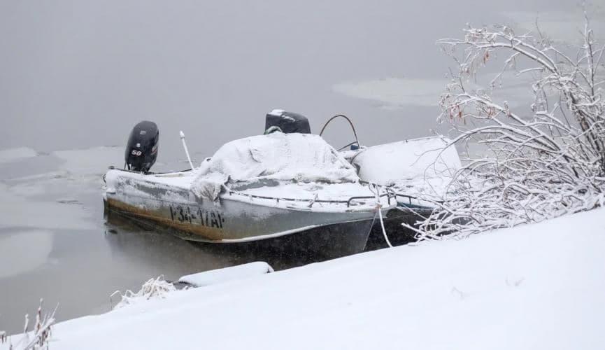 С 23 ноября на водоемах Днепропетровщины закрыто движение для малых судов   Прихист