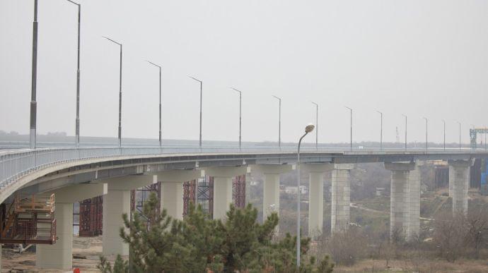 У Запоріжжі відкрили міст через річку Старий Дніпро   Прихист