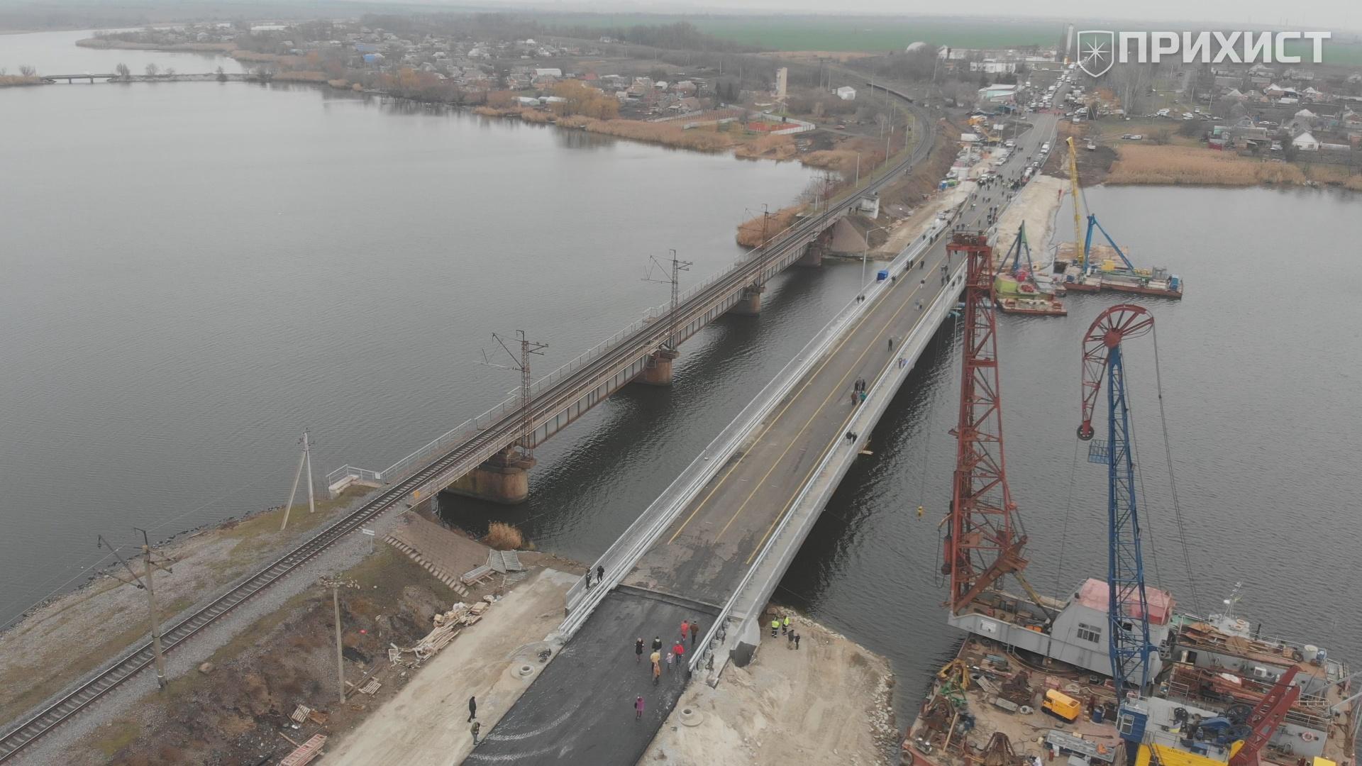Открытие моста через р. Чертомлык в Алексеевке   Прихист