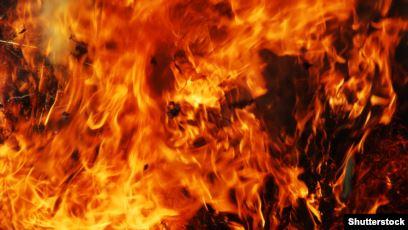 Подробности пожара в селе Алексеевка   Прихист