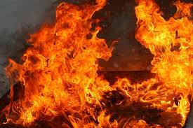 В Марганце спасли двух человек от пожара | Прихист