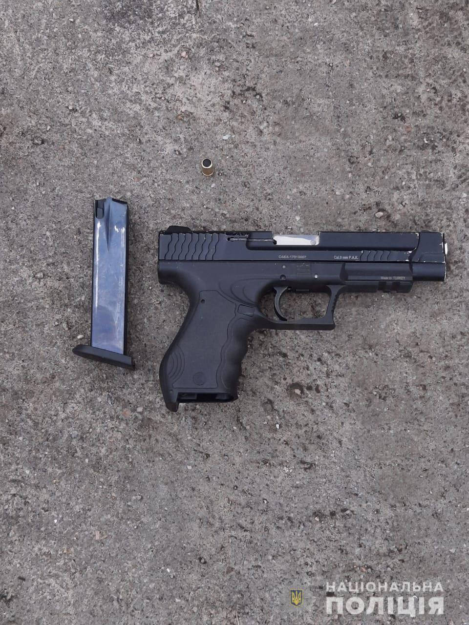 У жителя Никопольского района изъяли пистолет   Прихист