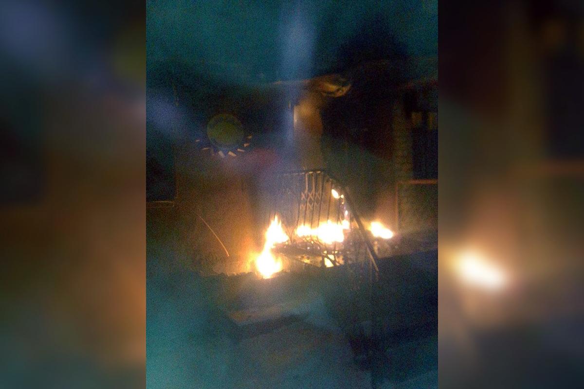 В Никополе горел солярий | Прихист
