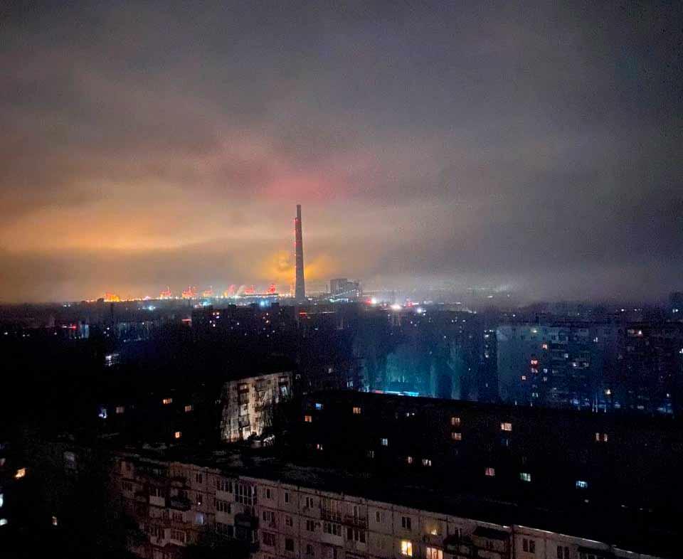 Аварийная остановка блоков на Запорожской ТЭС | Прихист