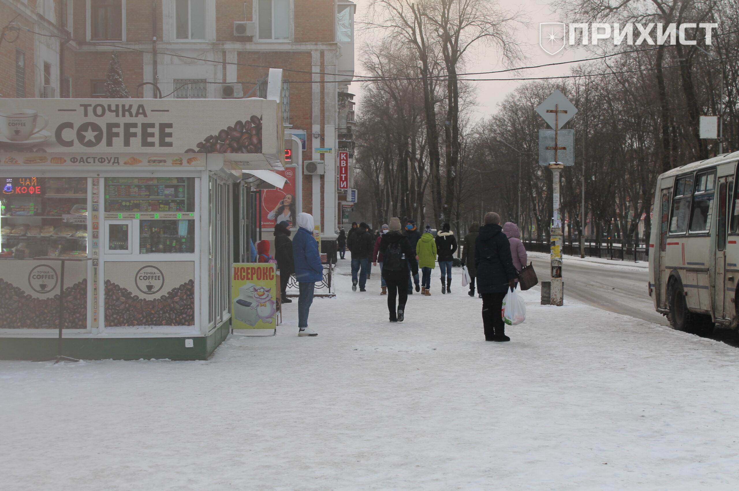 Як комунальники розчищають Нікополь від снігу: фоторепортаж | Прихист