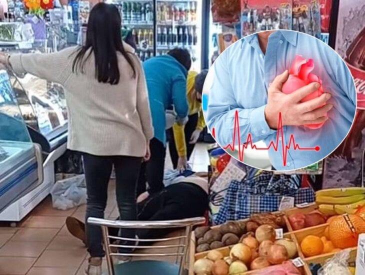 В Каменском у женщины случился инфаркт в продуктовом магазине | Прихист