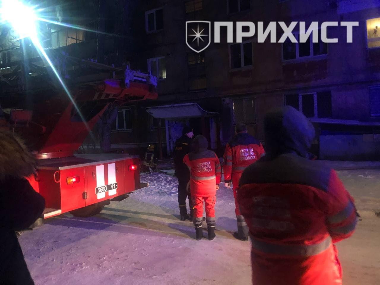 В Никополе горел балкон в многоэтажном доме | Прихист