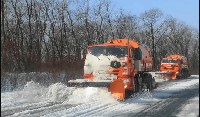 В Днепропетровской области полностью обеспечен проезд на дорогах государственного значения | Прихист