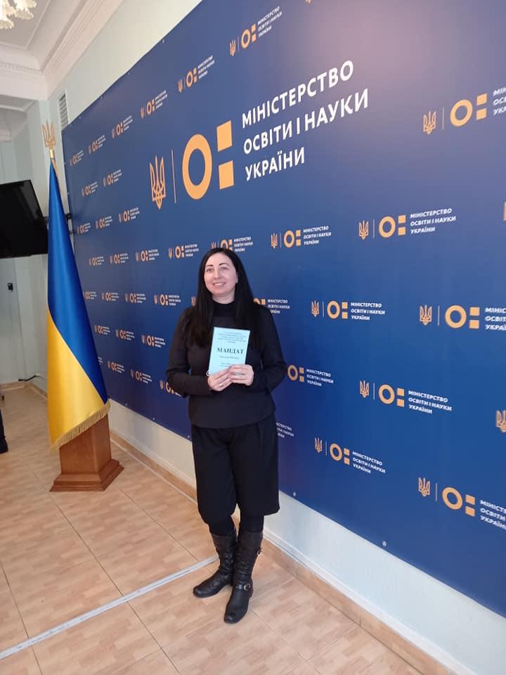 Директор Нікопольської школи мистецтв Ольга Пастушок увійшла до складу Громадської ради при МОН | Прихист