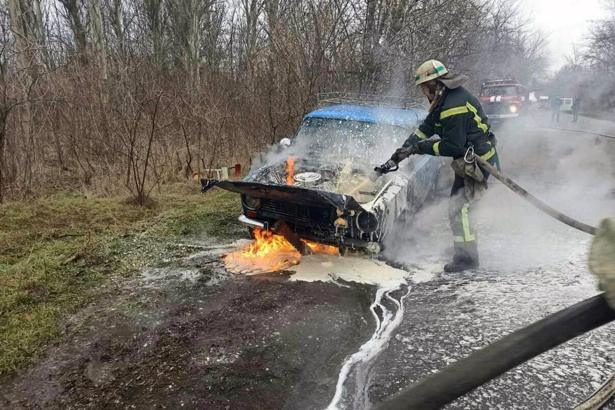 В Покрове сгорел автомобиль | Прихист