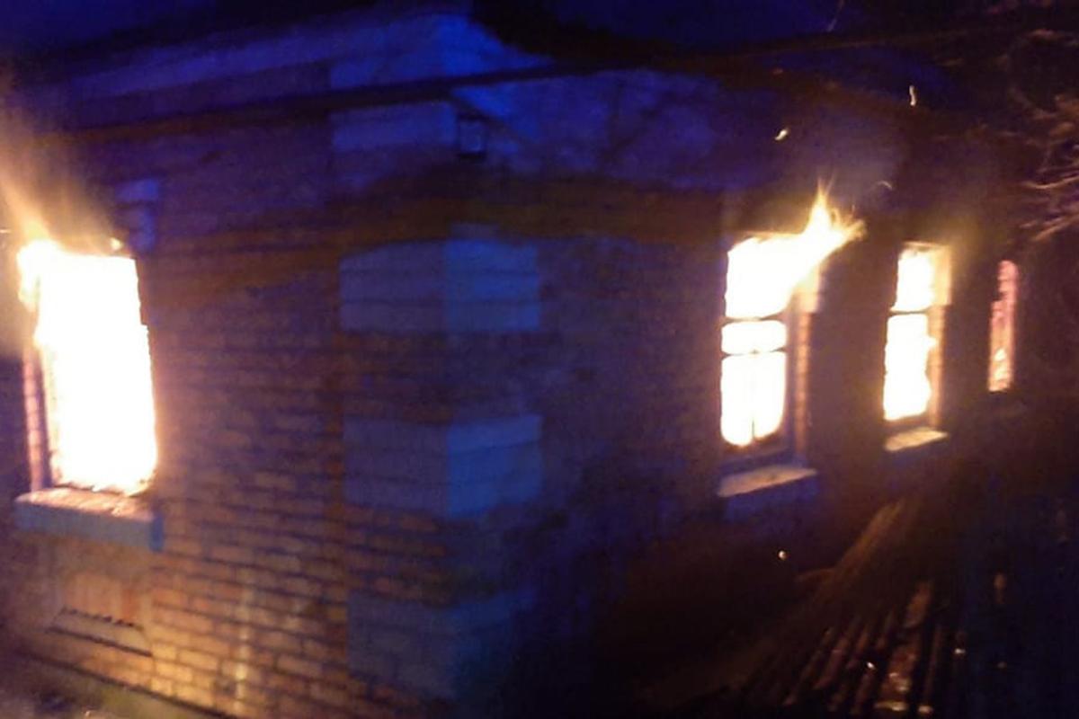 В Томаковском районе произошел пожар   Прихист