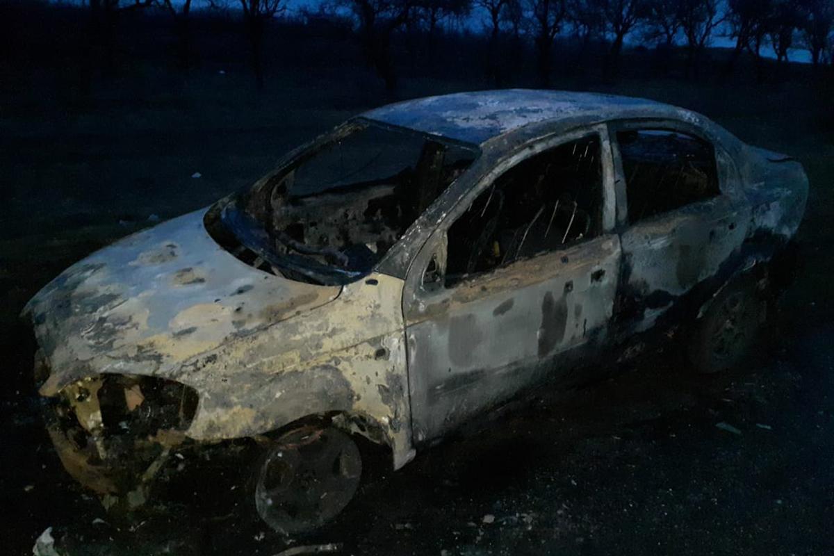 В Томаковском районе сгорел автомобиль | Прихист
