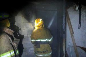 На улице Казацкой произошел пожар