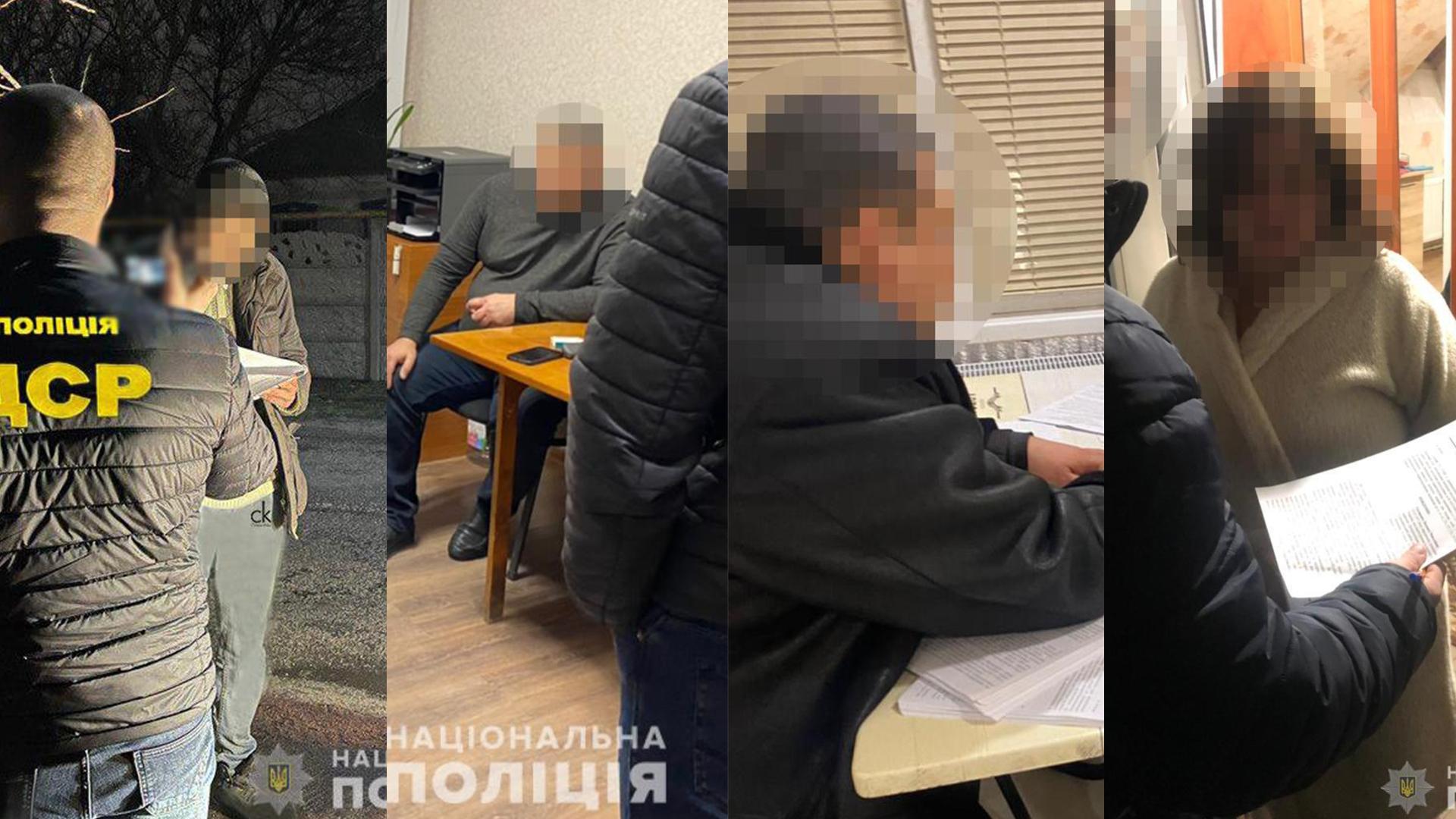 Чотирьох посадовців затримано на хабарі | Прихист