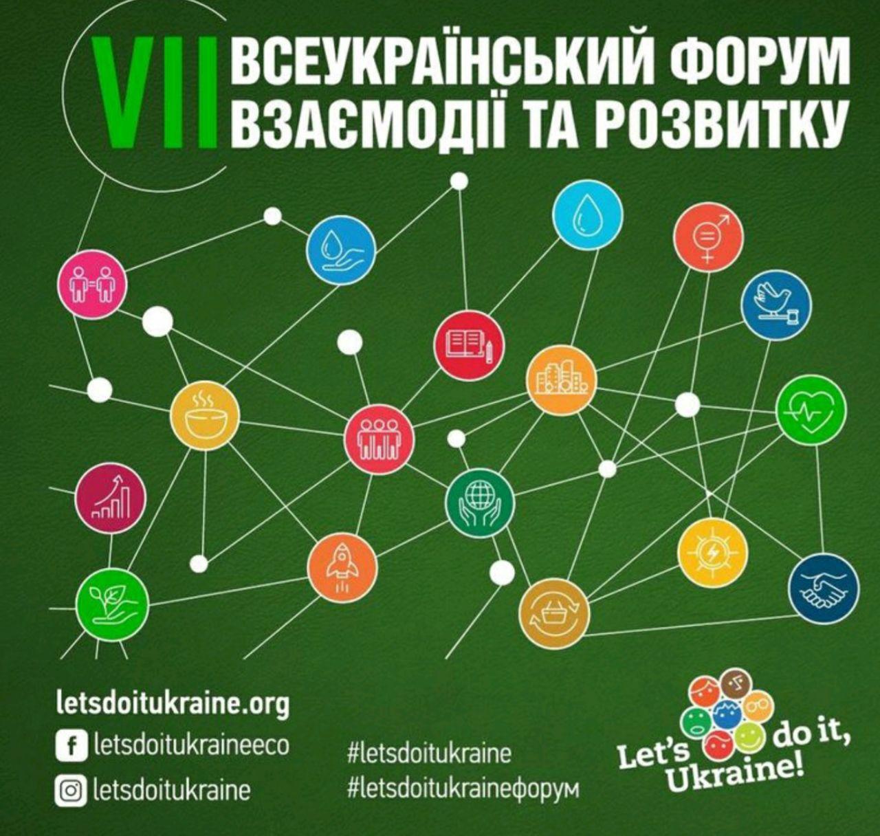 VIІ Всеукраїнський форум взаємодії та розвитку відбудеться онлайн   Прихист