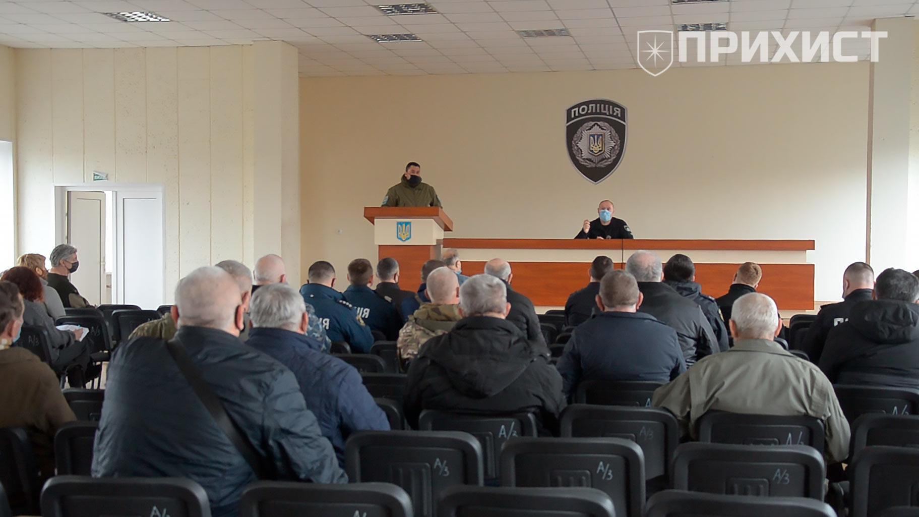 В районном управлении полиции обсудили противодействие незаконной вырубке деревьев | Прихист