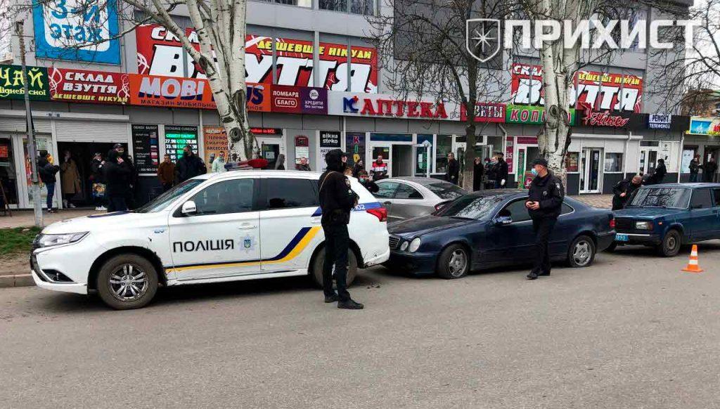 Задержание со стрельбой в центре Никополя | Прихист