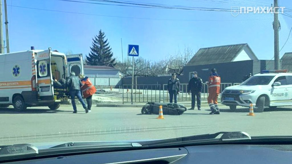 ДТП на проспекте Электрометаллургов: водитель скутера в больнице   Прихист