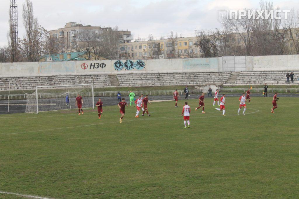 У Нікополі відбувся футбольний матч | Прихист