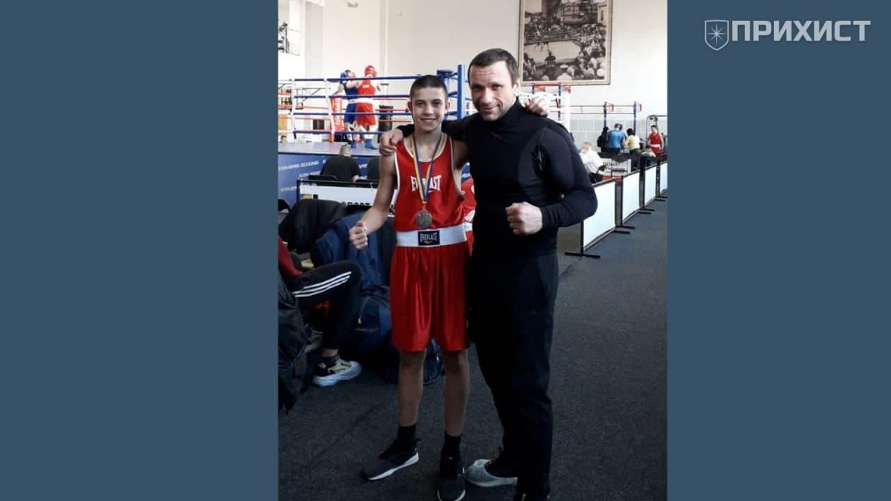 Олександр Колмаков – срібний призер Чемпіонату України з боксу   Прихист