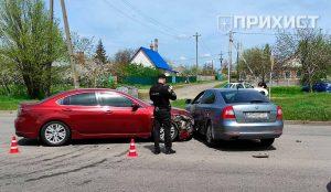 Авария на ул. Херсонской | Прихист