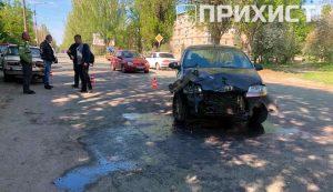На ул. Патриотов Украины столкнулись три автомобиля | Прихист