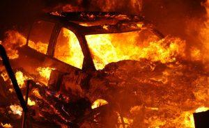 В Никополе ночью сгорел внедорожник | Прихист