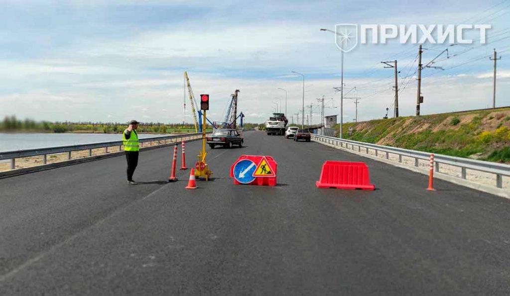 На Алексеевском мосту проводятся ремонтные работы. Движение ограничено | Прихист