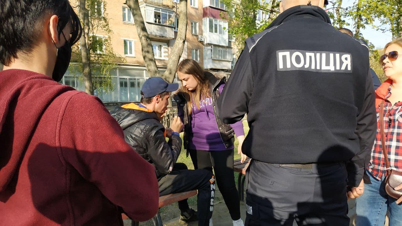 Мужчину избили около ювелирного магазина в Никополе   Прихист