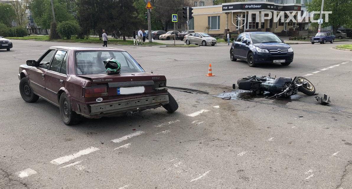 На перекрестке ул. Первомайская и ул. Шевченко произошла авария   Прихист