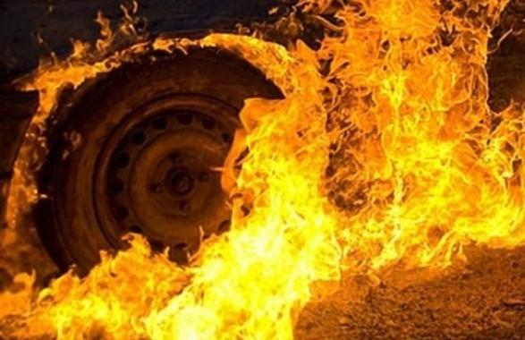 В Марганце сгорела машина | Прихист