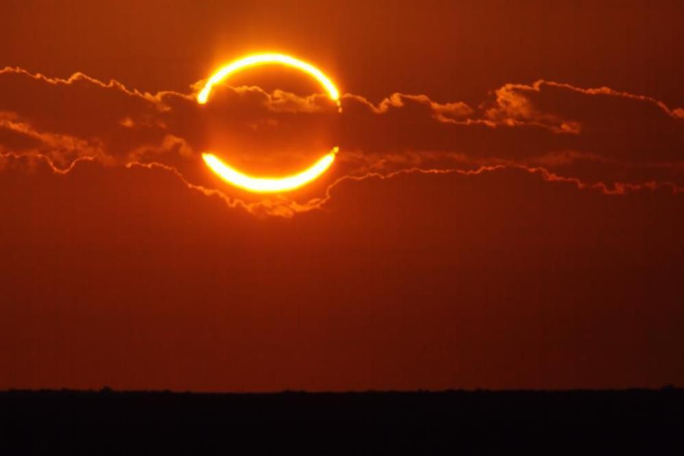 Сегодня украинцы могут наблюдать солнечное затмение | Прихист
