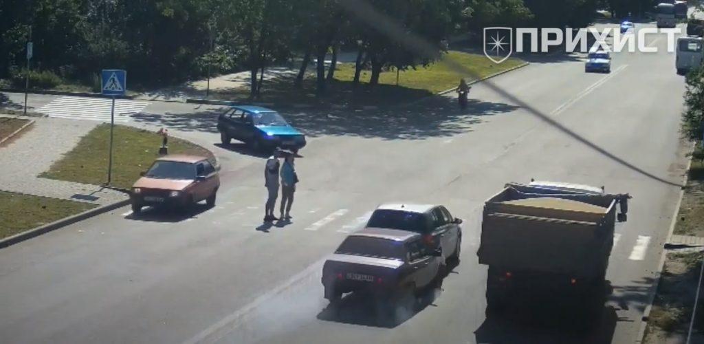На ул. Херсонская столкнулись ВАЗ-21099 и Volkswagen   Прихист