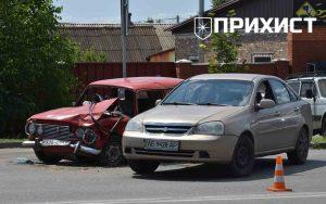 Авария на перекрестке ул. Херсонская и ул. Сечевая | Прихист