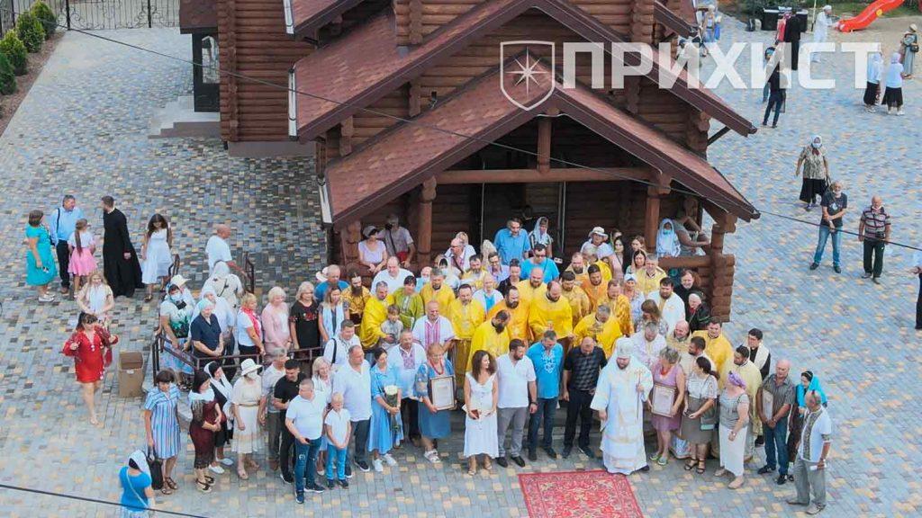 В Нікополі освятили храм на честь Петра Калнишевського | Прихист