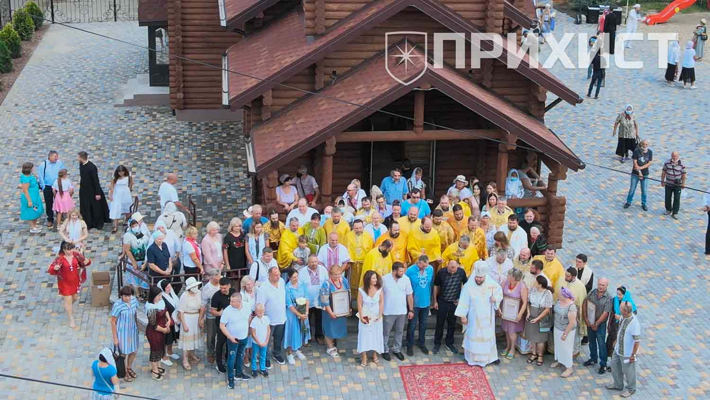 В Нікополі освятили храм на честь Петра Калнишевського   Прихист